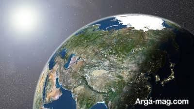 چگونگی پیدایش زمین