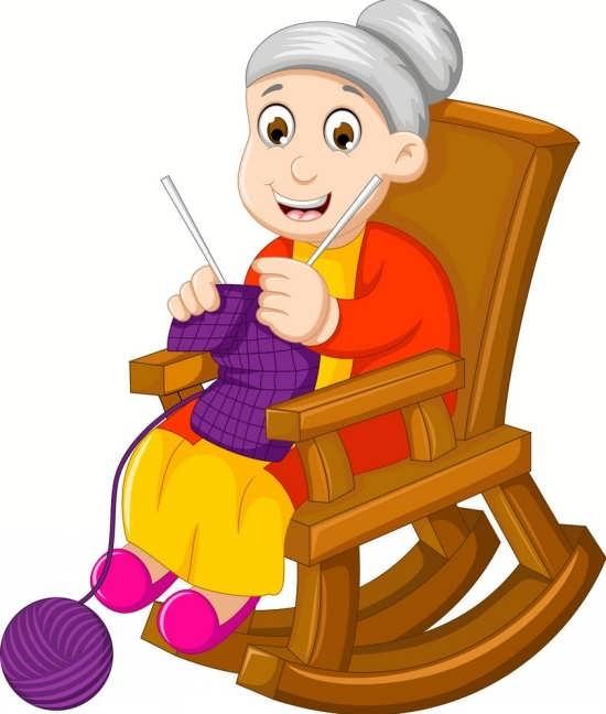 نقاشی مادربزرگ