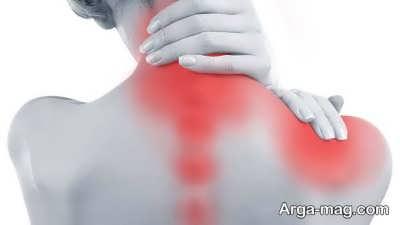کاهش درد گردن با کمپرس آب گرم
