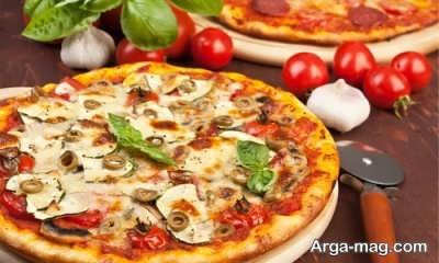 نحوه تهیه پیتزا ویکتوریا