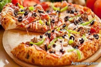 آموزش تهیه پیتزا ویکتوریا