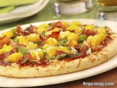 آموزش تهیه پیتزا عربی