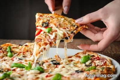 طرز تهیه پیتزا عربی با طعم ایده آل