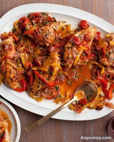 نحوه تهیه مرغ بلغاری