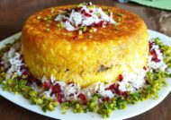 آشنایی با طرز تهیه ته چین شیرازی