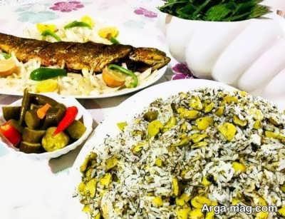 دستور تهیه باقالی پلو با ماهی