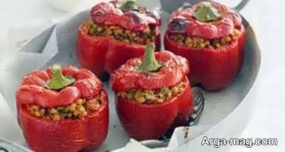 طرز تهیه دلمه نخود و سبزیجات فوق العاده خوشمزه و خوش طعم