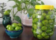آموزش طرز تهیه شور گوجه سبز با طعمی دلچسب