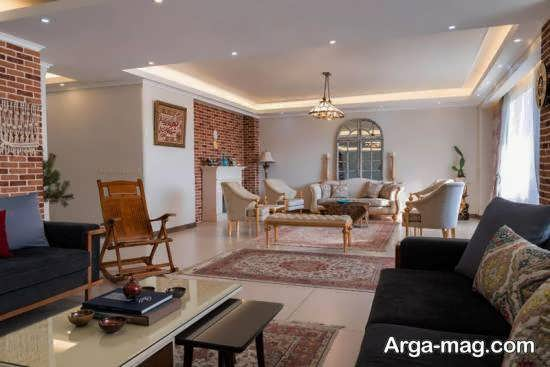 Iranian living room decoration 12 1 - دکوراسیون نشیمن ایرانی با ۶۶ طراحی منحصر به فرد و ایده آل