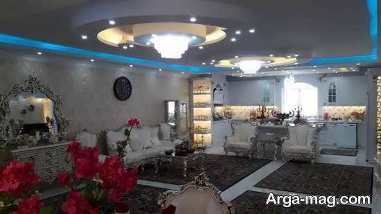 Iranian living room decoration 15 - دکوراسیون نشیمن ایرانی با ۶۶ طراحی منحصر به فرد و ایده آل