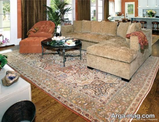 Iranian living room decoration 17 - دکوراسیون نشیمن ایرانی با ۶۶ طراحی منحصر به فرد و ایده آل