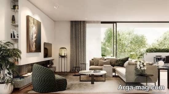 Iranian living room decoration 31 - دکوراسیون نشیمن ایرانی با ۶۶ طراحی منحصر به فرد و ایده آل