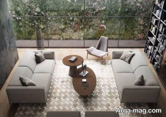 Iranian living room decoration 32 - دکوراسیون نشیمن ایرانی با ۶۶ طراحی منحصر به فرد و ایده آل