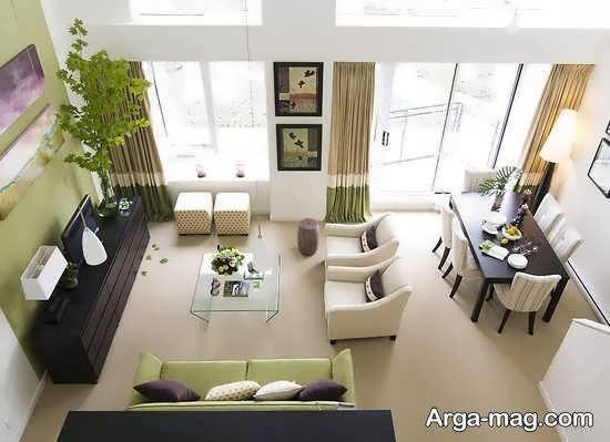 Iranian living room decoration 37 - دکوراسیون نشیمن ایرانی با ۶۶ طراحی منحصر به فرد و ایده آل