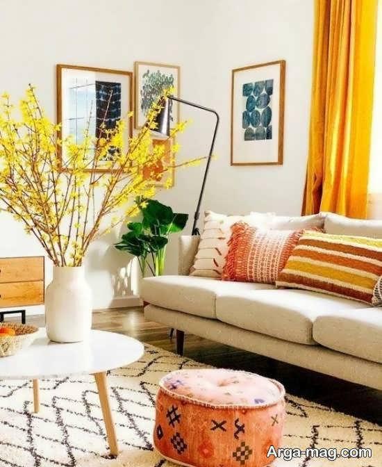 Iranian living room decoration 39 - دکوراسیون نشیمن ایرانی با ۶۶ طراحی منحصر به فرد و ایده آل