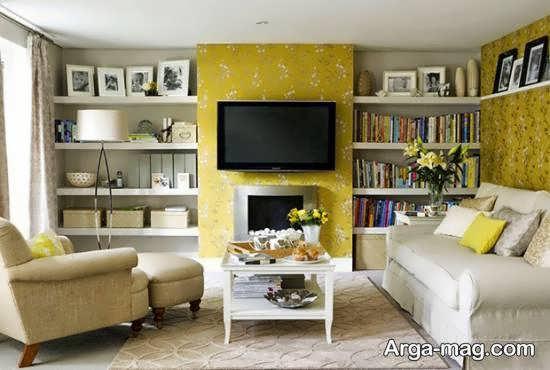 Iranian living room decoration 4 1 - دکوراسیون نشیمن ایرانی با ۶۶ طراحی منحصر به فرد و ایده آل