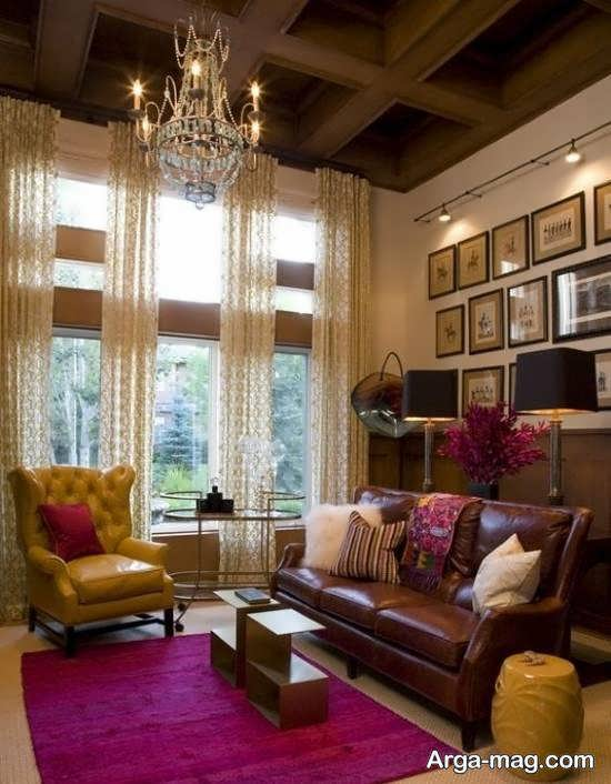 Iranian living room decoration 40 - دکوراسیون نشیمن ایرانی با ۶۶ طراحی منحصر به فرد و ایده آل