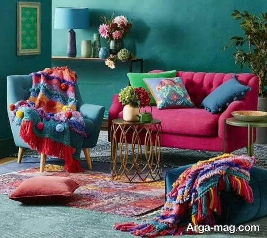 Iranian living room decoration 47 - دکوراسیون نشیمن ایرانی با ۶۶ طراحی منحصر به فرد و ایده آل