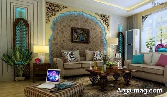 Iranian living room decoration 56 - دکوراسیون نشیمن ایرانی با ۶۶ طراحی منحصر به فرد و ایده آل