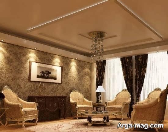 Iranian living room decoration 60 - دکوراسیون نشیمن ایرانی با ۶۶ طراحی منحصر به فرد و ایده آل