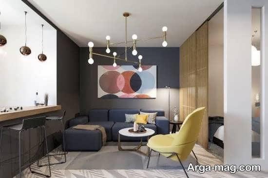 Iranian living room decoration 64 - دکوراسیون نشیمن ایرانی با ۶۶ طراحی منحصر به فرد و ایده آل
