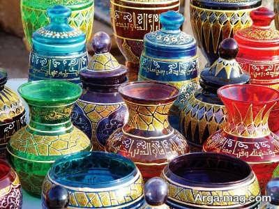 بازدید از صنایع دستی مردم اردن
