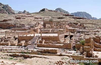 قلعه های بیابانی در اردن