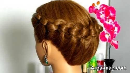 بافت مو گره ای زیبا