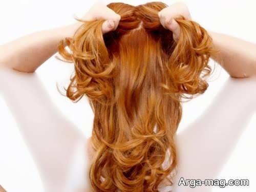 بافت موی زیبا و گره ای