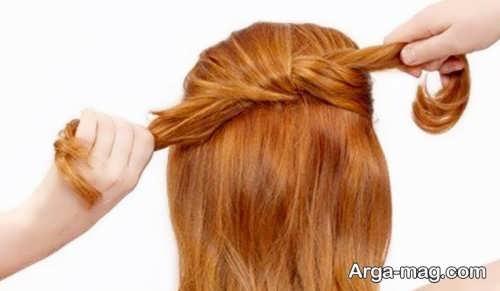 زدن بافت روی موها