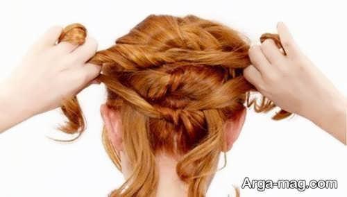 بافت موی گره ای زنانه
