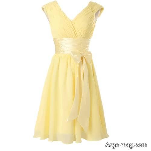 مدل پیراهن زنانه لیمویی