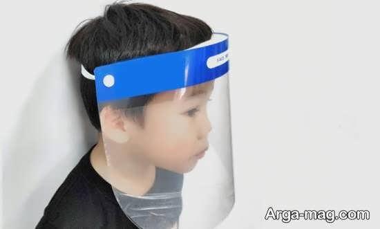 ساختن شیلد محافظ صورت در خانه