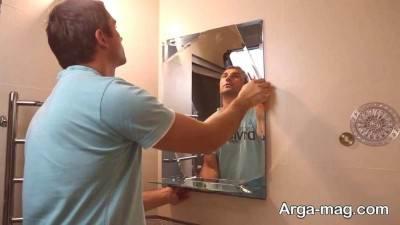 استفاده از تثبیت کننده ها در مرحله اول ترمیم آینه قرار دارد.