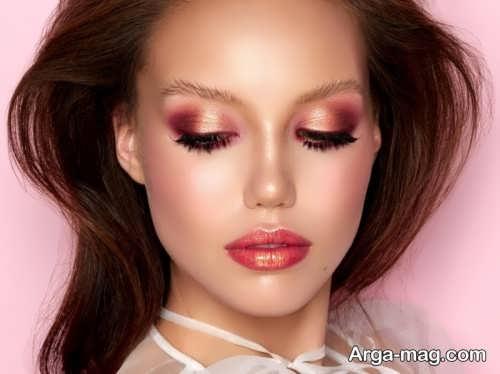 مدل آرایش مونوکروم