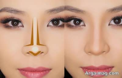 کانتور کردن بینی با روش های ساده