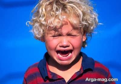 دلایل مختلف عصبانی شدن کودکان