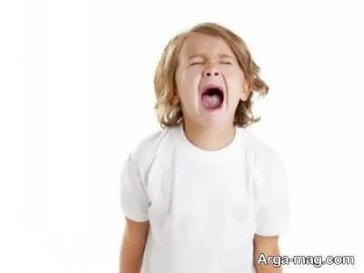 عصبانی شدن بچه ها و علل آن