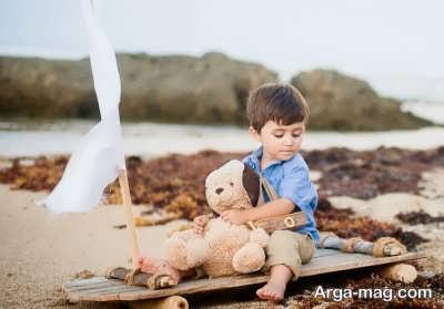 بازی نمودن کودک در فضای باز