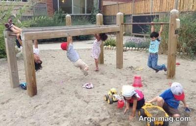 بازی کودک در محیط باز و مزایای آن