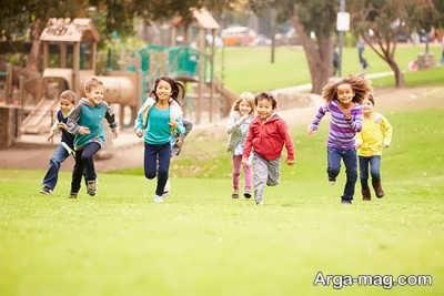 برخی فوائد بازی کودک در محیط آزاد