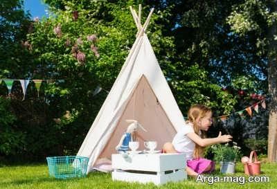 مزایای بازی کودک در فضای آزاد