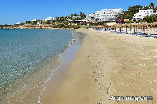 جزیره پاروس سومین جزیره بزرگ یونان
