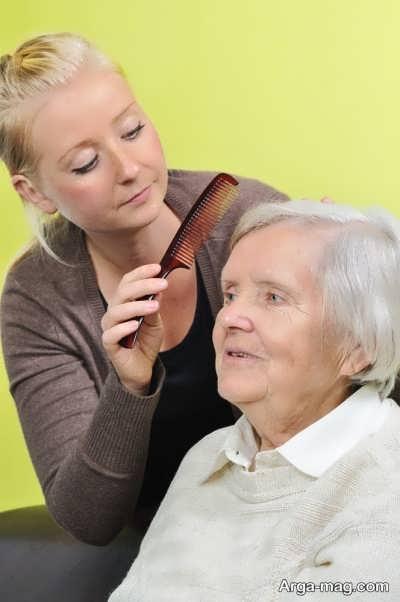 مراقبت از افراد آلزایمری چگونه است