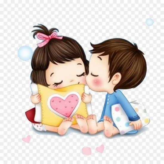 تصویر پروفایل عاشقانه انیمیشنی