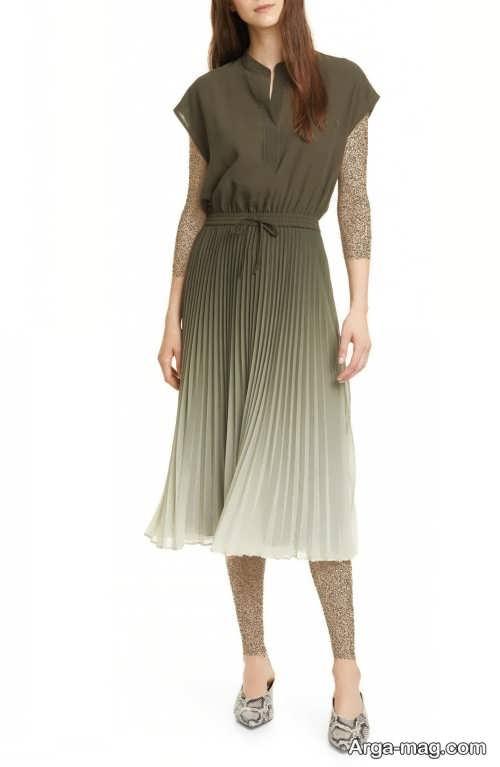 لباس چین دار و زیبا