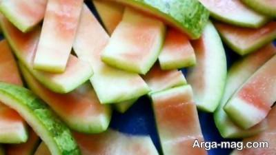 بهبود زخم ها با پوست هندوانه