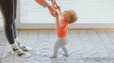 ترس راه رفتن نوزاد