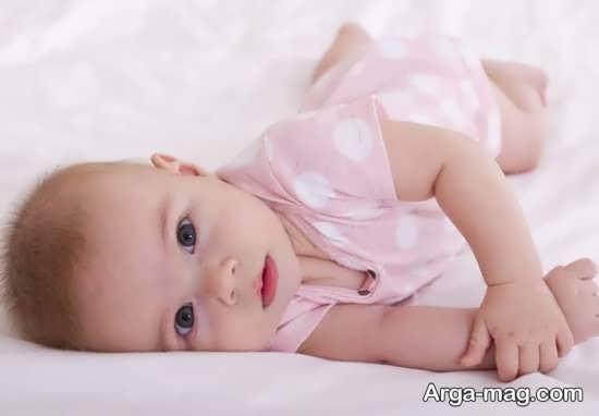 نکات ایمنی در رابطه با غلت زدن نوزاد