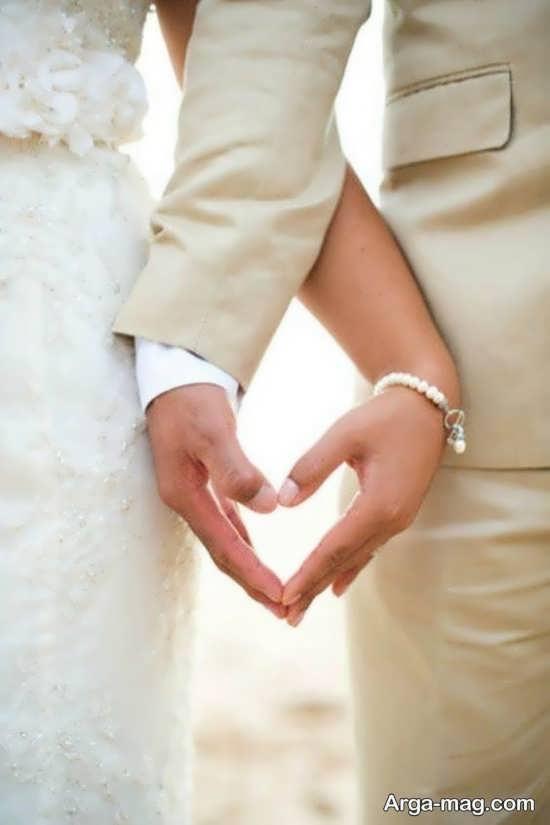 تصویر پروفایل دست عاشقانه زن و شوهر